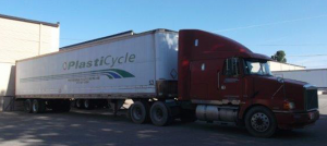 PlastiCycle trucks service recycled plastic in the South East