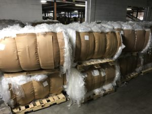 LDPE film scrap from plastic bags